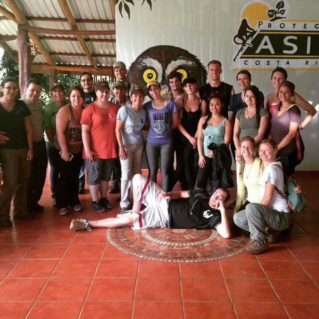 Harper College Chicago Volunteer Visit, Proyecto Asis Costa Rica